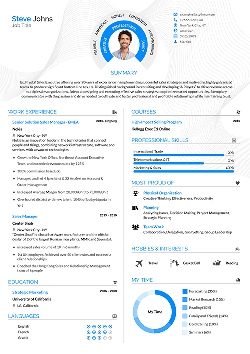 The Best 100 Resume Templates Recommended By Experts